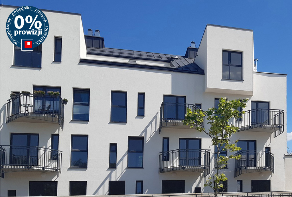 prestiżowy apartamentowiec, gdzie mieści się mieszkanie na sprzedaż Wrocław Leśnica