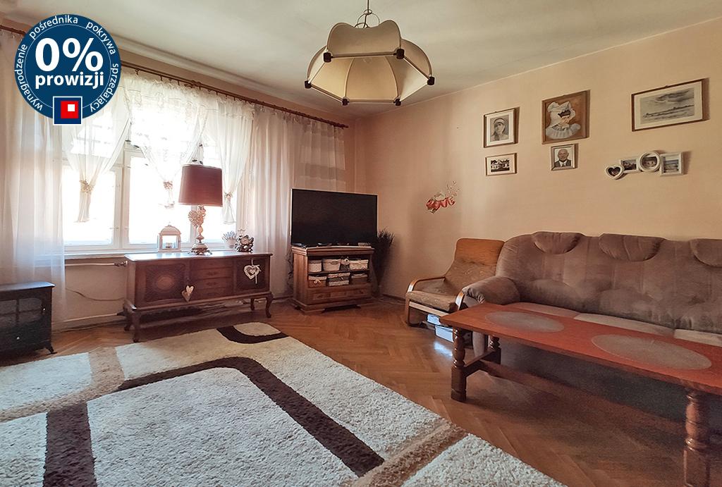 wygodny pokój dzienny w mieszkaniu na sprzedaż Wrocław Stare Miasto