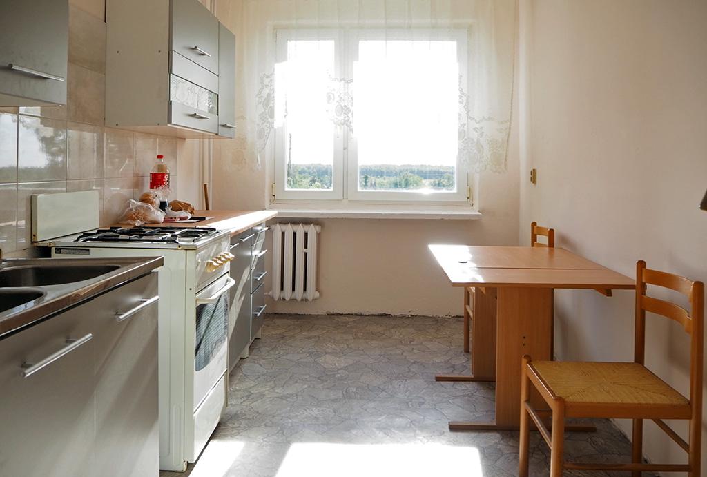 praktycznie urządzona kuchnia w mieszkaniu do wynajmu Wrocław Fabryczna