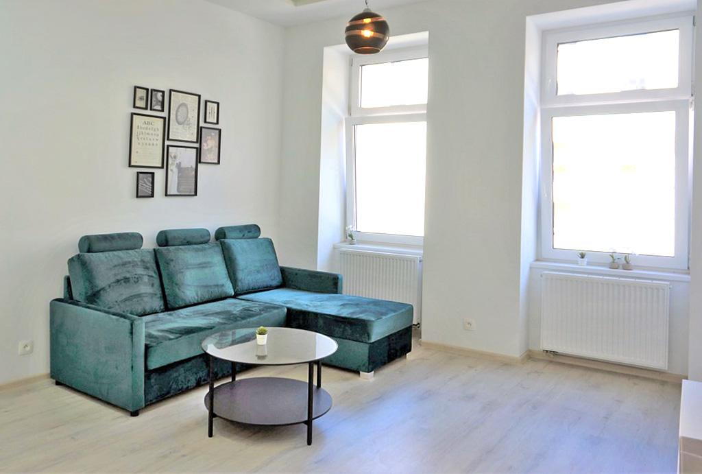 zbliżenie na salon w mieszkaniu na wynajem Wrocław Krzyki