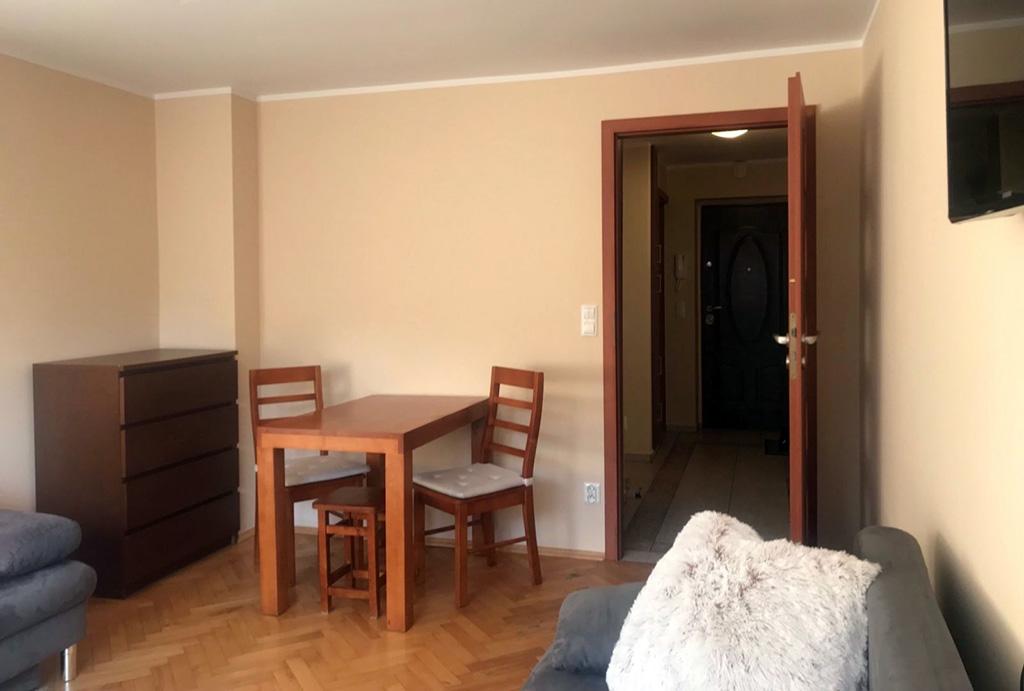 druga strona salonu w mieszkaniu do wynajmu Wrocław Stare Miasto