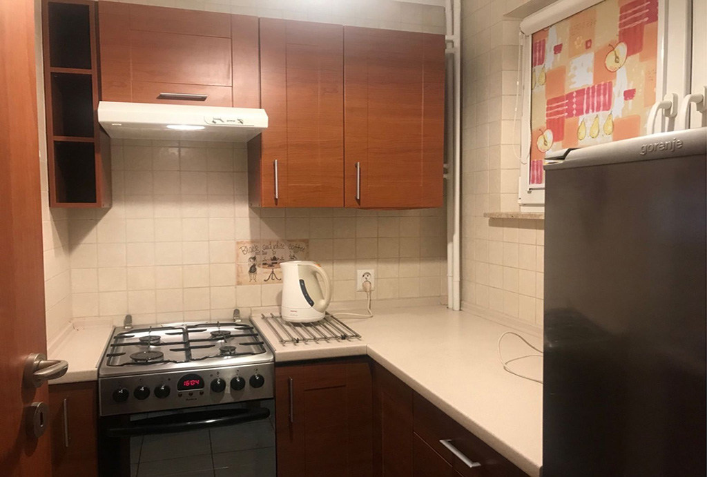zabudowana kuchnia w mieszkaniu na wynajem Wrocław Stare Miasto