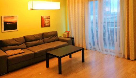 kameralny salon w mieszkaniu do sprzedaży Wrocław Krzyki