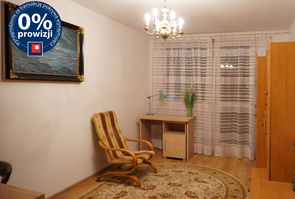 wysoki standard salonu w mieszkaniu do wynajęcia Wrocław Psie Pole