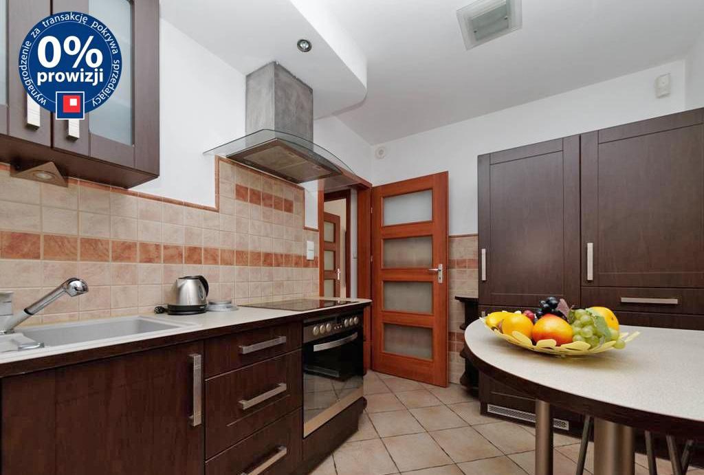 zabudowana kuchnia w mieszkaniu do sprzedaży Wrocław Centrum