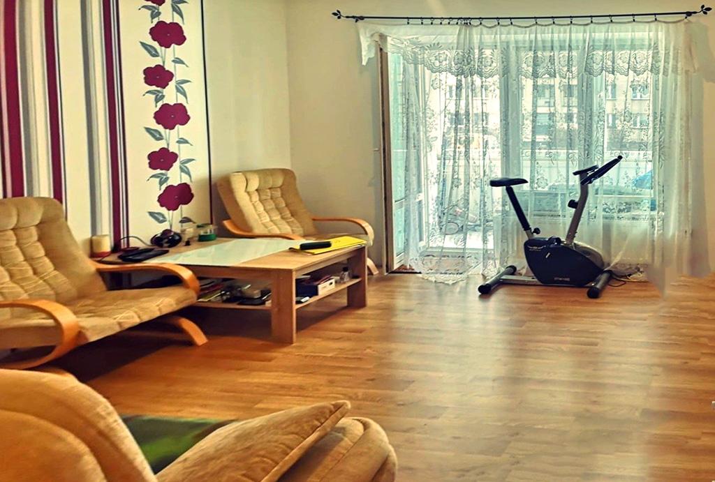 druga strona pokoju dziennego w mieszkaniu na sprzedaż Wrocław Grabiszyn