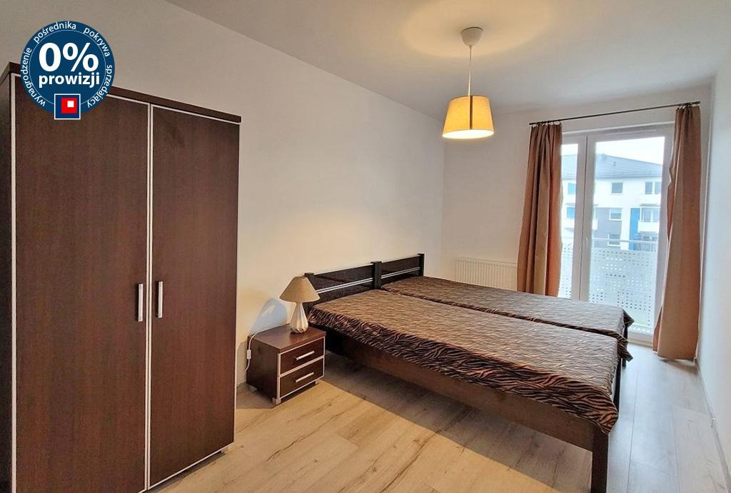 prywatna i cicha sypialnia w mieszkaniu na wynajem Wrocław (okolice)