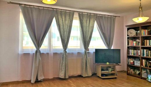 fragment salonu w mieszkaniu do sprzedaży Wrocław Brochów