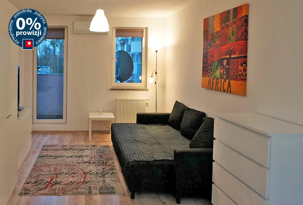 druga strona salonu w mieszkaniu do wynajęcia Wrocław Krzyki