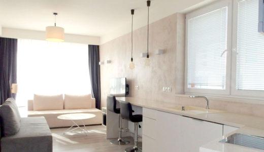 stylowy salon w mieszkaniu do sprzedaży Wrocław Stare Miasto