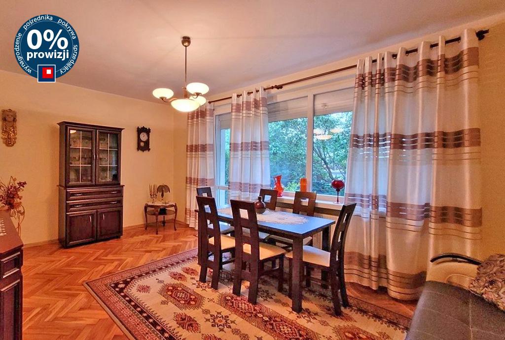 stylowy salon w mieszkaniu do sprzedaży Wrocław Psie Pole