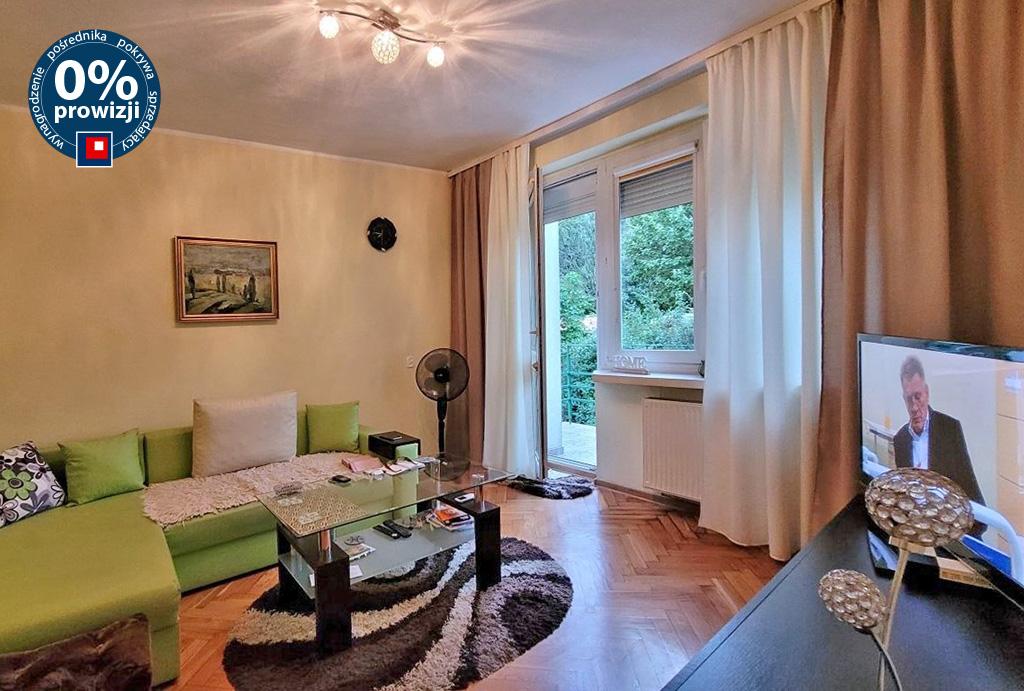 druga strona pokoju dziennego w mieszkaniu na sprzedaż Wrocław Psie Pole