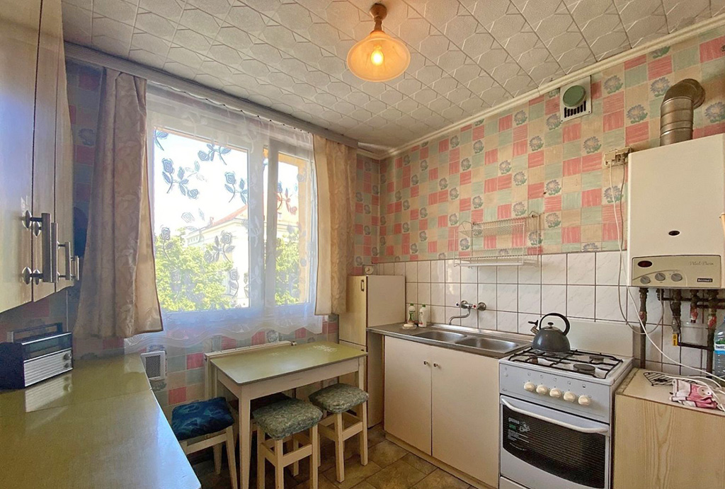 kuchnia oraz jadalnia w mieszkaniu do sprzedaży Wrocław okolice