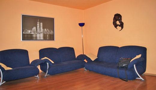 salon w mieszkaniu do sprzedaży Wrocław (okolice)