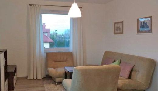 stylowy salon w mieszkaniu do wynajęcia Wrocław (okolice)