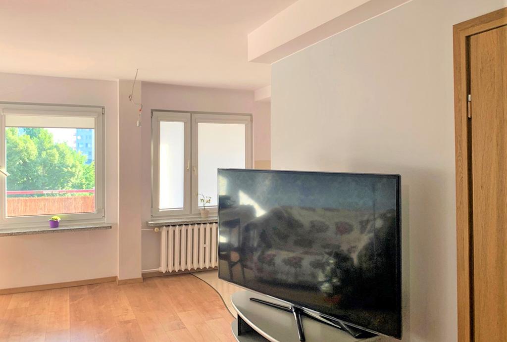 pokój dzienny w mieszkaniu na sprzedaż Wrocław