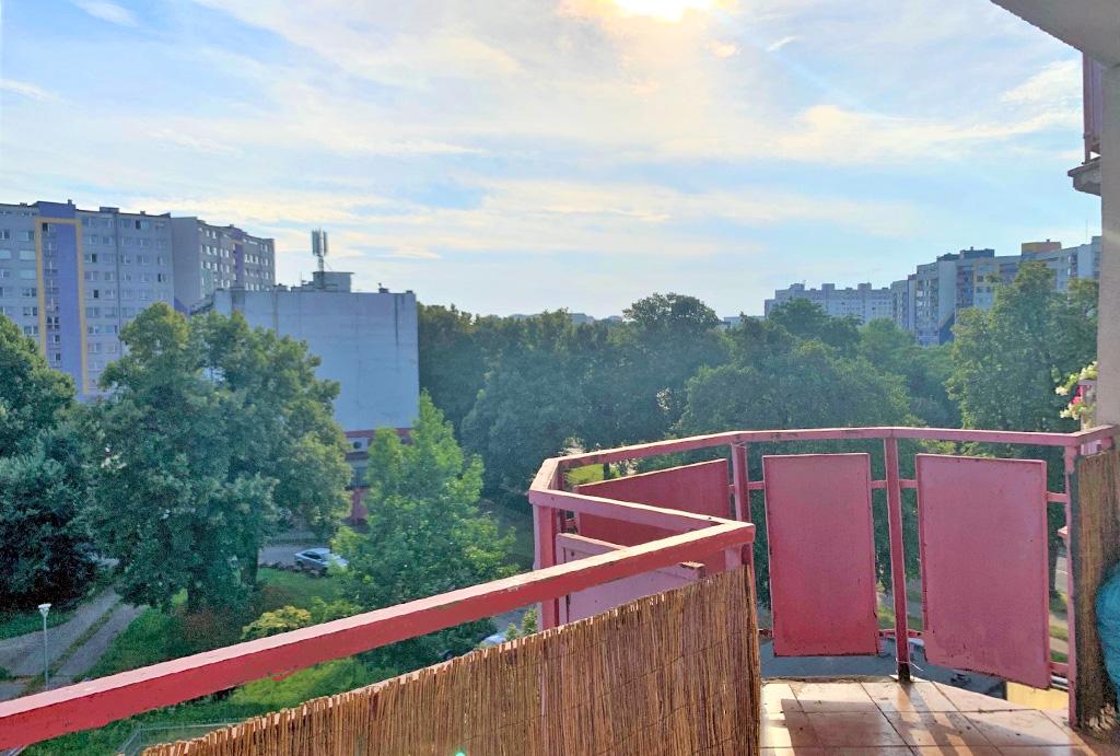 imponujący widok z balkonu mieszkania na sprzqedaż Wrocław
