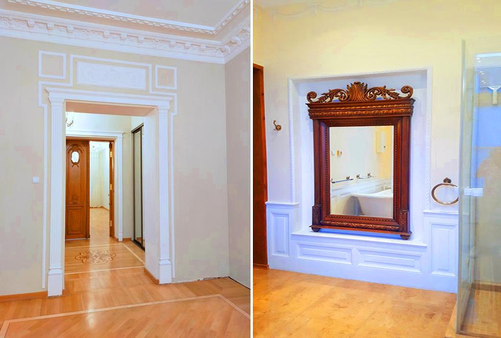 klasyczne wnętrze mieszkania do sprzedaży Wrocław