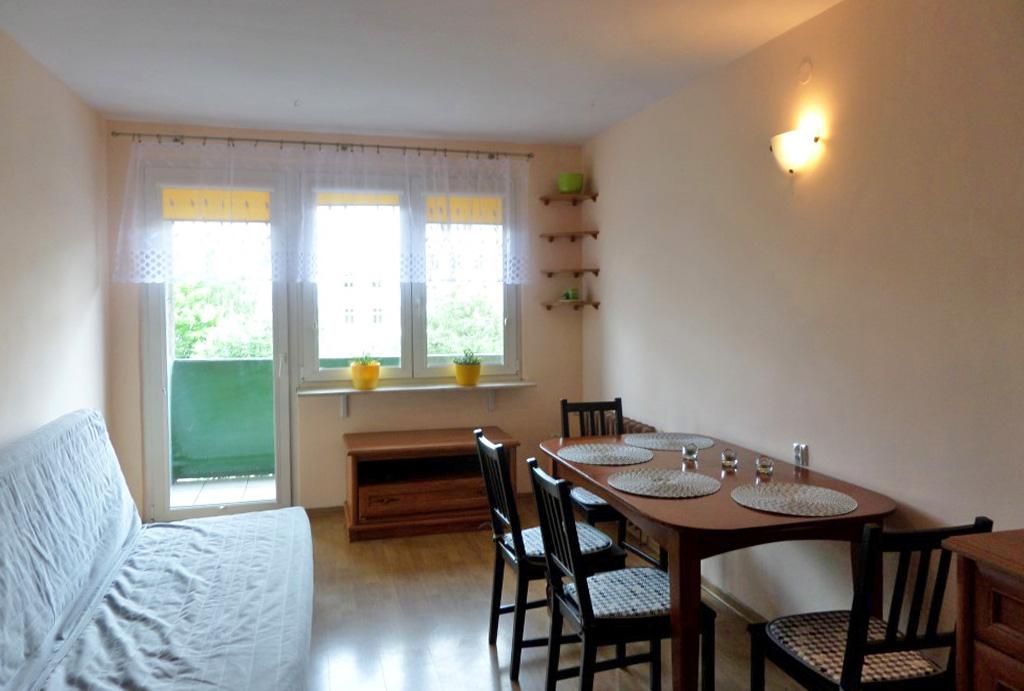 stylowy pokój dzienny w mieszkaniu do wynajęcia Wrocław