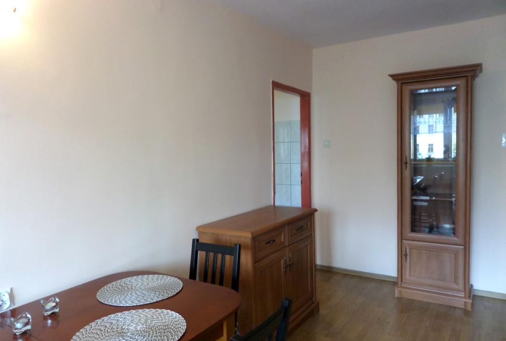 fragment salonu w mieszkaniu do wynajmu Wrocław