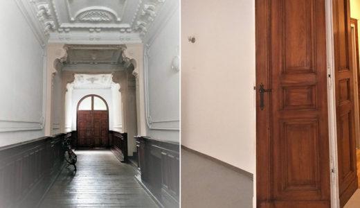 stylowe wejście prowadzące do mieszkania do wynajęcia Wrocław